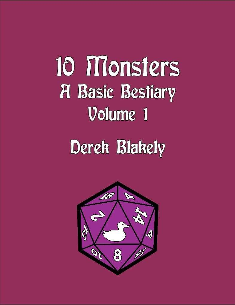 10 Monsters - A Basic Bestiary - V.1