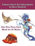 Fantasy Stock Art Bundle by Brett Neufeld