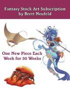 Fantasy Stock Art Bundle by Brett Neufeld