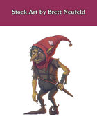 Stock Art: Redcap Goblin