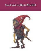 Stock Art: Redcap Goblin