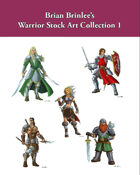 Brian Brinlee's Warrior Stock Art Collection 1