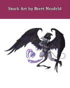 Stock Art: Winged Vengeance
