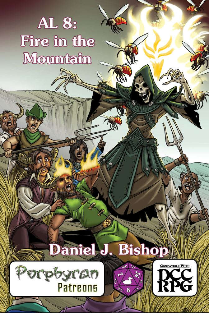 AL 8: Fire in the Mountain (DCC)