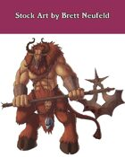 Stock Art: Minotaur