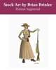 Stock Art: Female Steampunk Explorer