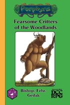 Fearsome Critters of the Woodlands (DCC)