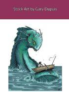 Stock Art: Sea Monster