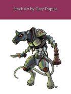 Stock Art: Space Rat