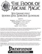 [PFRPG] The Book of Arcane Magic Web Enhancement - Reborn Soul Sorcerer Bloodline