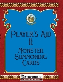 [PFRPG] Player's Aid II: Monster Summoning Cards