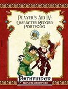 [PFRPG] Player's Aid IV: Character Record Portfolio - Form Fillable Version