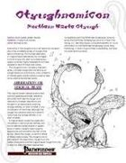 Otyughnomicon: Northern Waste Otyugh [PFRPG]