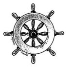 Purple Duck Stock 33 - Ship Wheel