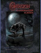 Contagion Gamemaster Screen