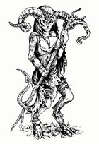 Female Tiefling Variant Stock Art