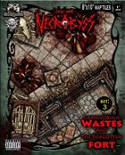 Into the Necrobyss Map Tiles 3: Carnivorous Wastes and the Forgotten Fort