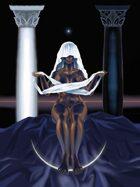 Priestess Stock Art