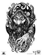 Stinky Goblin Stock Art: Wizard 1