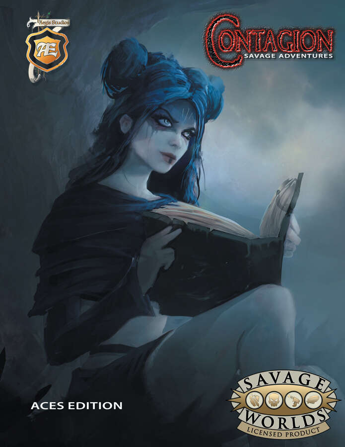 Contagion Savage Edition Cover