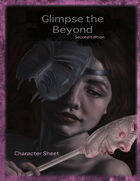 Glimpse the Beyond Second Edition Character Sheet
