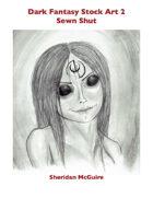Dark Fantasy Stock Art 2: Sewn Shut