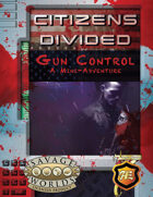 Gun Control: Citizens Divided