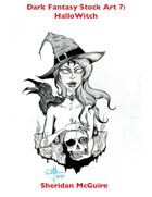 Dark Fantasy Stock Art 7: HalloWitch