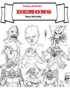 Fantasy Stock Art: Demons