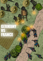 WW1 historical token pack: France vs Germany