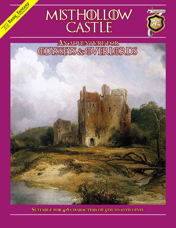 Cover of Misthollow Castle