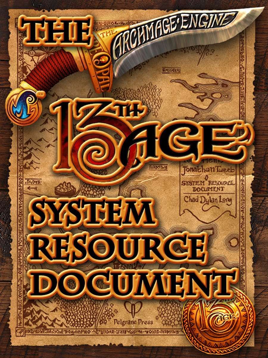 13th Age System Reference Document