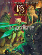 Lions & Tigers & Owlbears: The 13th Age Bestiary 2 preview