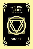 The Yellow King RPG Shock cards