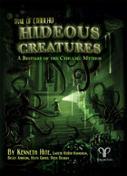 Hideous Creatures: A Bestiary of the Cthulhu Mythos