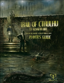 Portada de Trail of Cthulhu player's guide