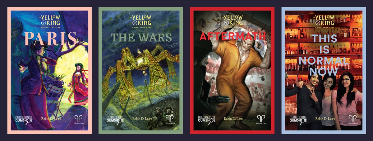 All four covers