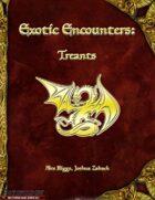 Exotic Encounters: Treants