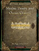 Mythic Mastery - Mythic Desert and Ocean Giants