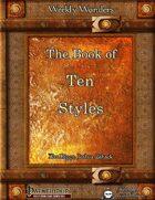 Weekly Wonders - The Book of Ten Styles
