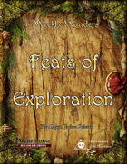 Weekly Wonders - Feats of Exploration