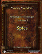 Archetypes of Intrigue [BUNDLE]