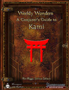 Weekly Wonders: A Conjurer's Guide to Kami