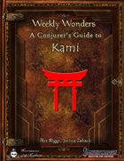 Weekly Wonders: A Conjurer's Guide to Kami