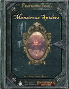 Fearsome Foes - Monstrous Spiders