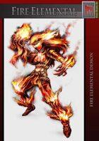 Fire elemental demon