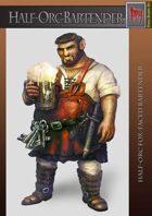 Half Orc Bartender