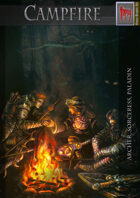 Campfire – archer sorceress paladin