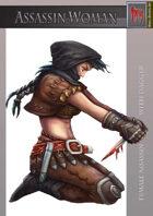 Assassin Woman – Female assassin with dagger