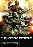 Urban War: CLAU-Team Actions (1st Edition)